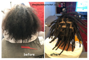Dreadlocks Installation
