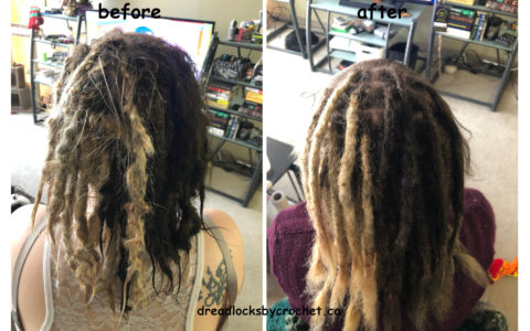 Dreadlocks Maintenance and Repair