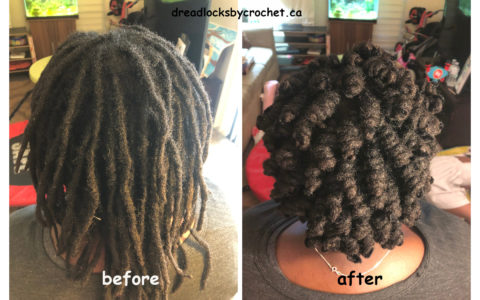 Dreadlocks Styling