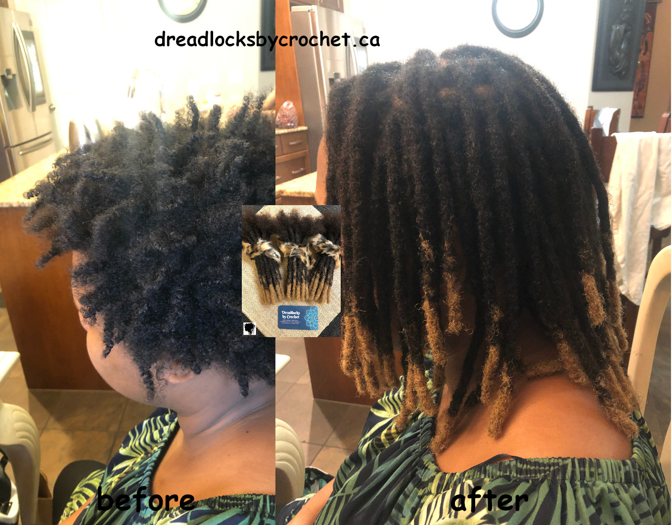 Dreadlock Extension Installation In Canada