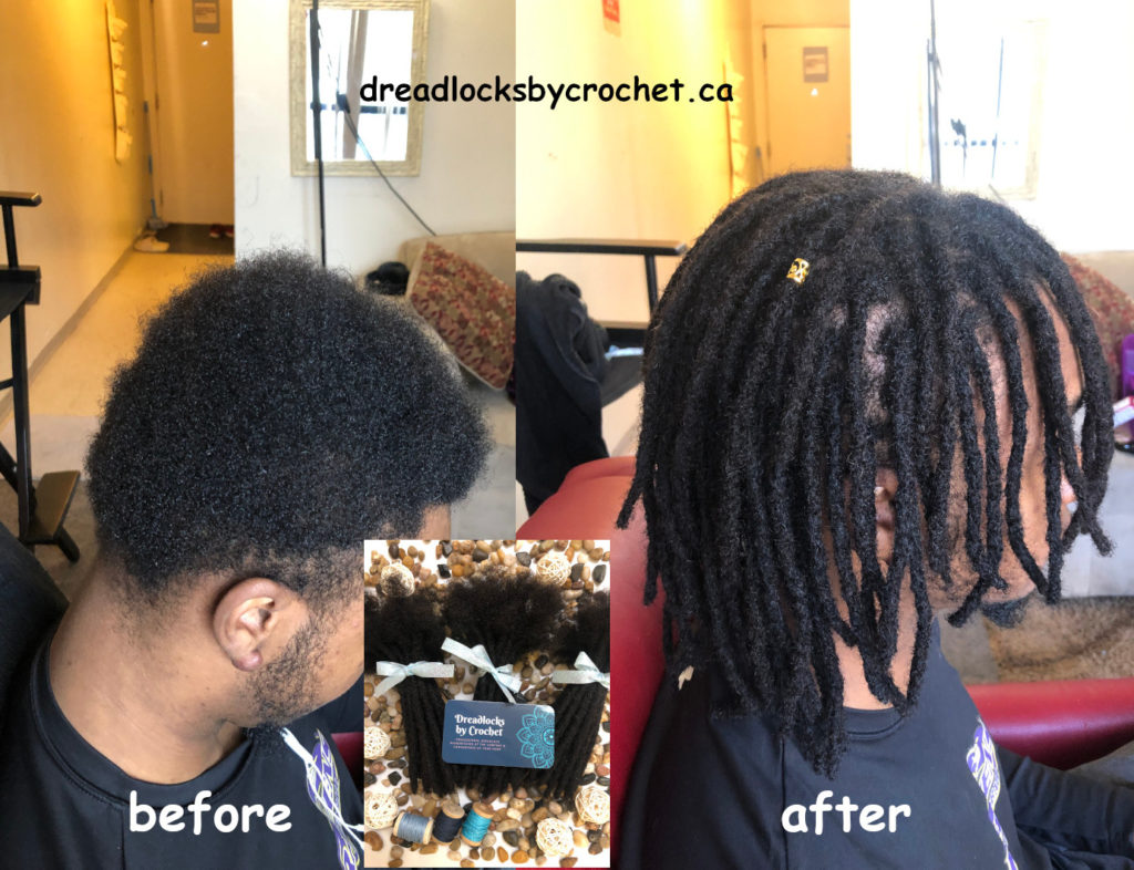 Dreadlock Extensions Installation In Edmonton, Canada