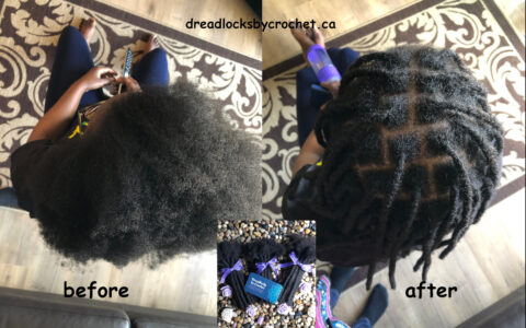 Dreadlocks Installation 1